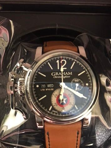 Graham Chronofighter Relogio Captain America Novo Original