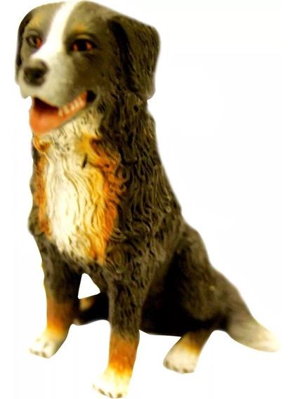 Miniatura Cão De Raça Bouvier Bernois Em Resina