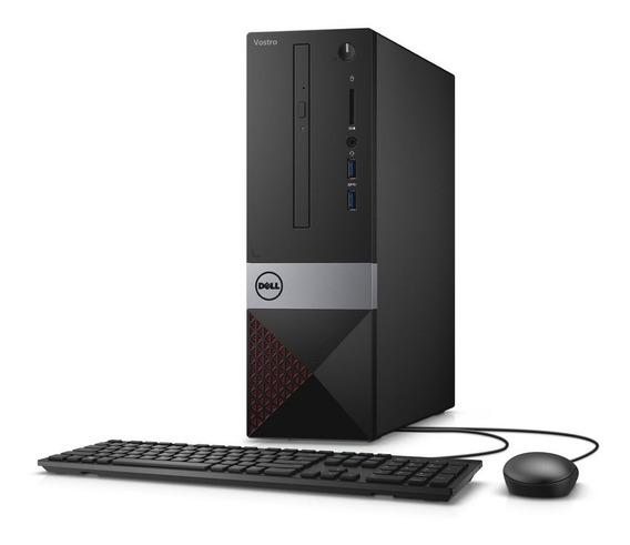 Desktop Dell Vostro Vst-3470-u50 I5 8gb 256gb Ssd Linux