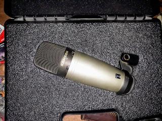 Combo: Consola,mic,cable,jirafa,soporte Araña, Fil Antipop