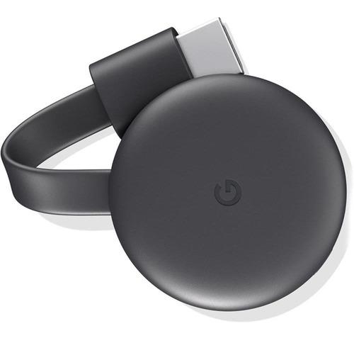 Imagem 1 de 1 de Chromecast 3 Google Hdmi Para Tv