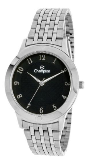 Relógio Feminino Champion Prata Clássico Ch22975t