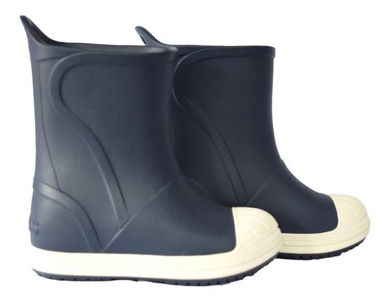 Botas Lluvia Crocs Bump It Boot Azul
