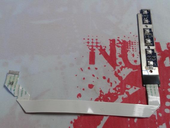 Placa De Botões Lateral Atalho P/notebook Acer Aspire 4736