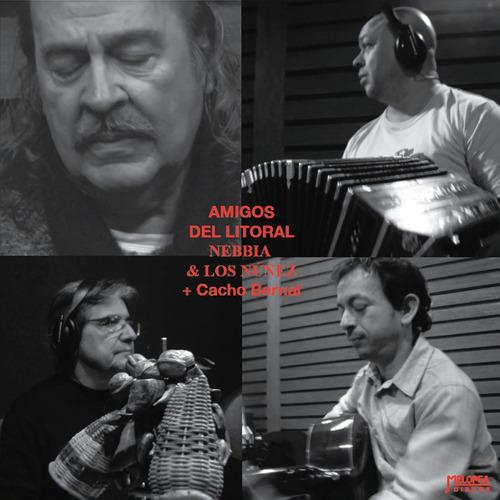 Nebbia & Los Núñez - Amigos Del Litoral - Cd