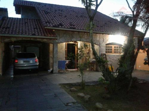 Casa Residencial À Venda, Estância Balneária Maria Helena Novaes, Peruíbe. - Ca0756