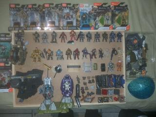 Set Halo Mega Construx Y Megablocks. Lote