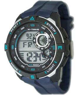 Reloj X-time 026 Digital Sumergible 100mts Deportivo Hombre