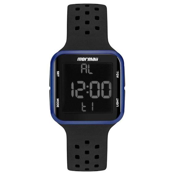 Relógio Mormaii Wave Unissex Azul E Preto Mo6600ab/8a