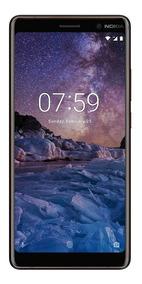 Celular Nokia 7 Plus 64gb Dual Sim Negro Nuevo Sellado