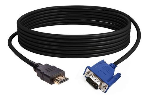 Cable Hdmi Macho A Vga 1.8m Solo Para Vga Con Hdcp Ttuy ®