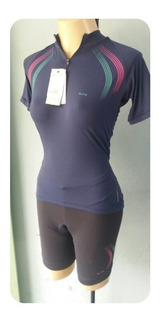 Conjunto Ciclismo Feminino Camisa + Bermuda + Brinde - Elite