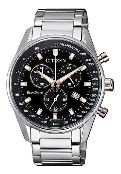 Reloj Citizen Ecodrive Cronografo Taquímetro Fecha At239686e