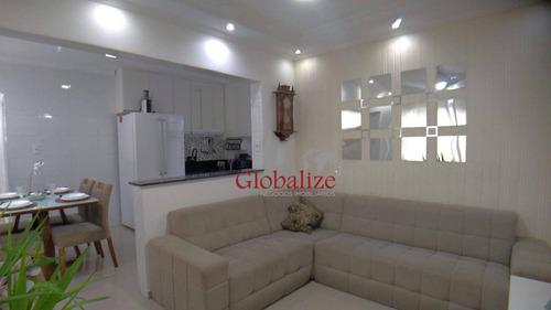 Imagem 1 de 30 de Apartamento Com 2 Dormitórios À Venda, 53 M² Por R$ 269.000,00 - Vila São Jorge - São Vicente/sp - Ap1021