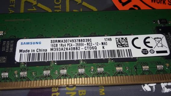 Memoria Ram Samsung De 16 Gb 100 % Original.