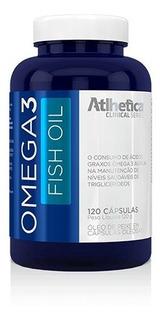 Ômega 3 1000mg (120 Caps) Atlhetica Nutrition