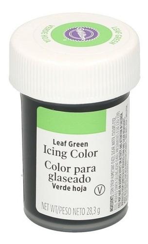 Gel Colorante Para Glaseado Verde Hoja Wilton Original