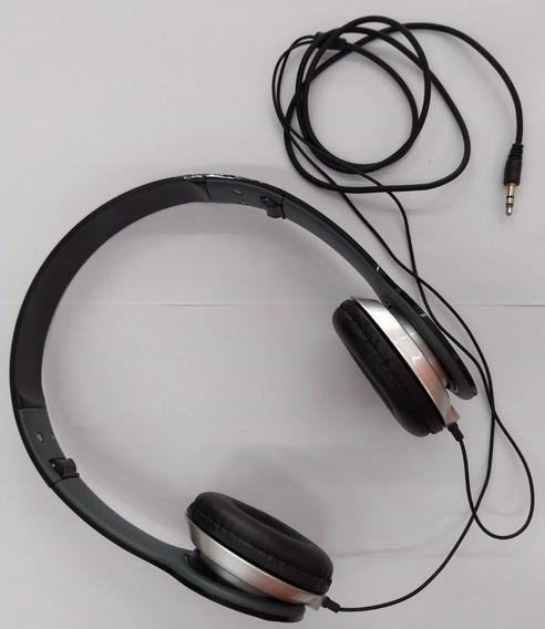 Fone Headphone - Dobrável P2