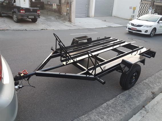 Carretinha 3 Motos R$2.590,00 Zero 12x