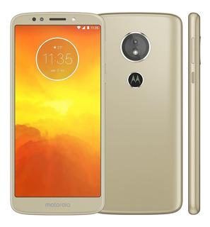 Motorola Moto E5 Xt1944-4 16gb Ouro Dual Tela 5.7 Vitrine