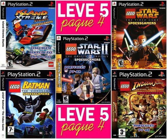 Lego Coleção Infantil (5 Jogos) Ps2 Desbloqueado Patch