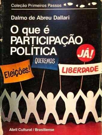 Livro O Que É Participação Política - Primeiros Passos