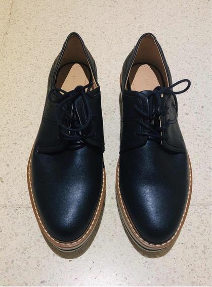 Zapatos Acordonados Zara Talle 37