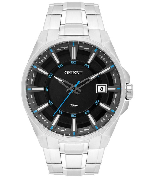 Relógio Orient Masculino Mbss1313 Pasx Azul Aço Analogico