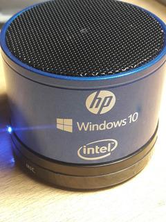 Parlante Bluetooth Bt Noga Ngs025 Edicion Limitada Intel W10