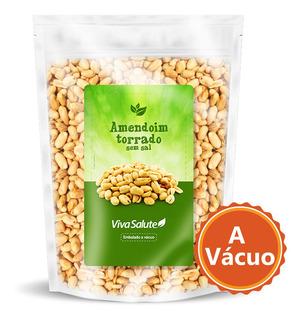 Amendoim Torrado S/ Sal S/ Pele - 1kg | Envio Rápido!