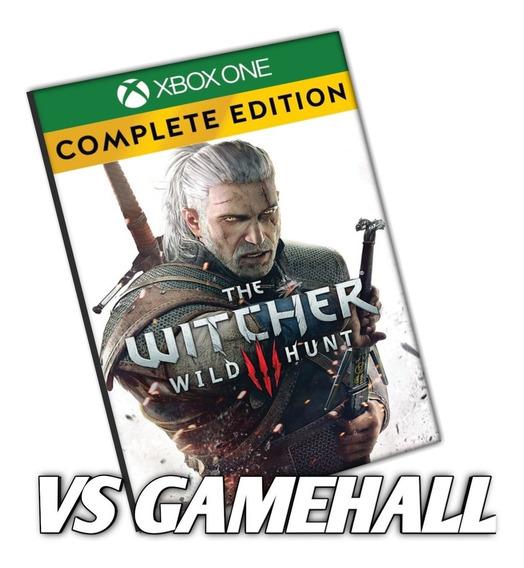 The Witcher 3 Wild Hunt Completo Xbox One Digital + Brinde
