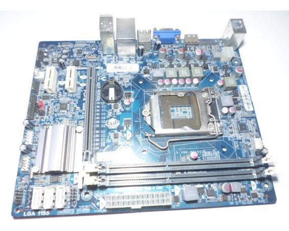 Placa Mae Megaware Mod. Mw-h61-h2 Ddr3 Lga 1155 C/defeito