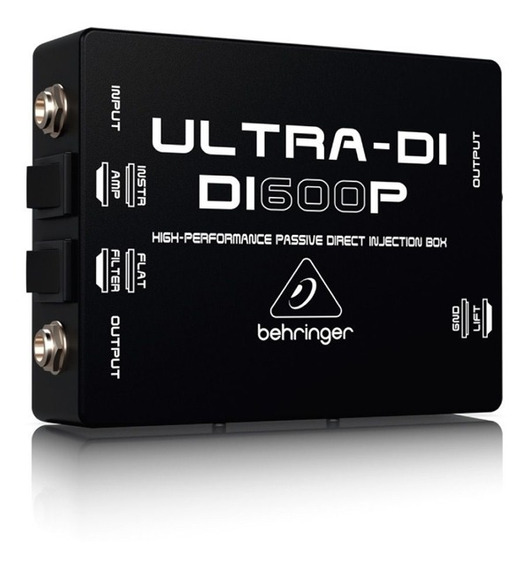 Direct Box Passivo Behringer Di600p Ultra Di