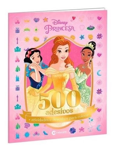 Imagem 1 de 6 de Livro 500 Adesivos E Atividade Princesas Disney Culturama