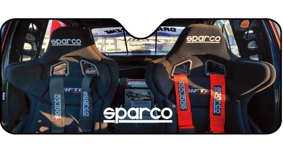 Tapa Sol Carro Tunning Sparco Spc1717m