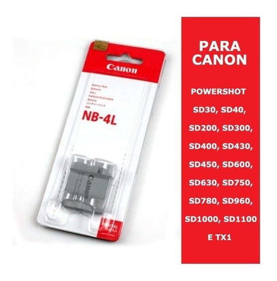 Bateria Original Canon Nb-4l