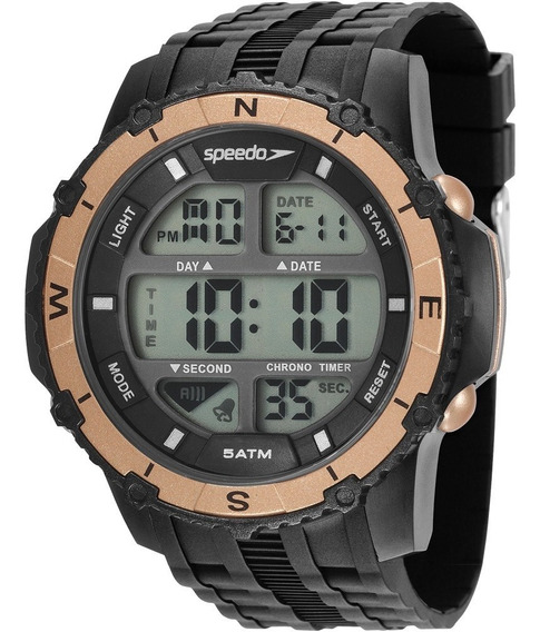Relógio Masculino Speedo Digital Preto 81135g0evnp5