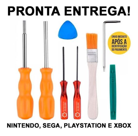 Conjuto De Chaves Kit De Ferramentas Nintendo, Sega, Etc..