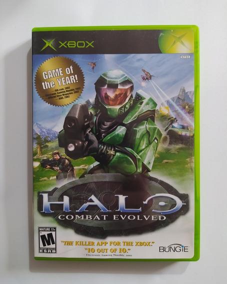 Halo Combat Evolved Goty - Xbox Classic Original Completo