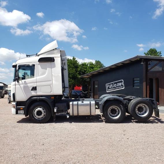 Scania Evolucao R124 420 2008 6x2 Cavalo Trucado Unico Dono