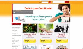 Site Com 400 Cursos Virtuais Para Vender E Ganhar Dinheiro