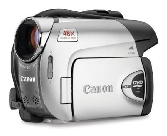 Canon Dc330 1,07 Mp Ccd Preto, Prateado (filmadora)
