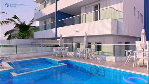 Imagem 1 de 15 de Apartamento 3 Dormitórios 100 Metros Da Praia Em Itanhaém - 0089