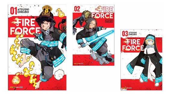 Fire Force - Volumes Avulsos
