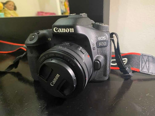 Camara Profesional Canon Eos 80d