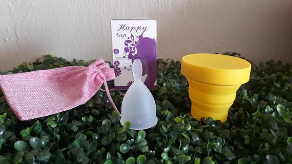 Copa Menstrual Happy Cup Chica, Mas Vaso Esterilizador.