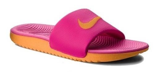 Chinelo Nike Kawa Slide Rosa Pink Original Promoção!