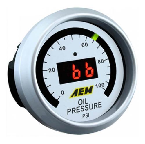 Reloj De Presión De Aceite/combustible Aem