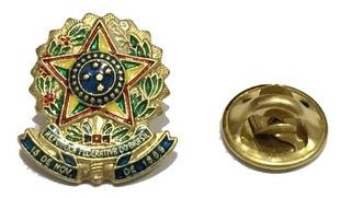 Pin Do Brasão Da República Federativa Do Brasil