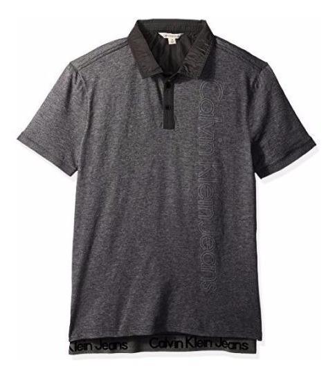 Exclusiva Polo Calvin Klein Jeans Ck M L Xl